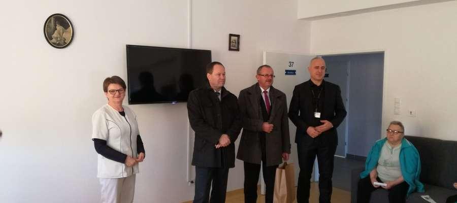 Dzienny Dom Opieki Medycznej w Żurominie otwarto w grudniu 2016 (fotografia z otwarcia).