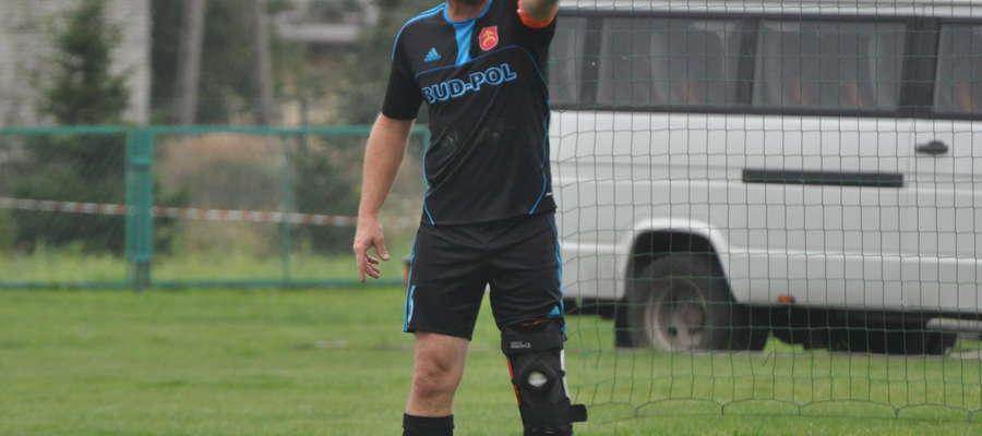 Trener Mariusz Kołakowski otrzymał dwie żółte kartki fot. arch