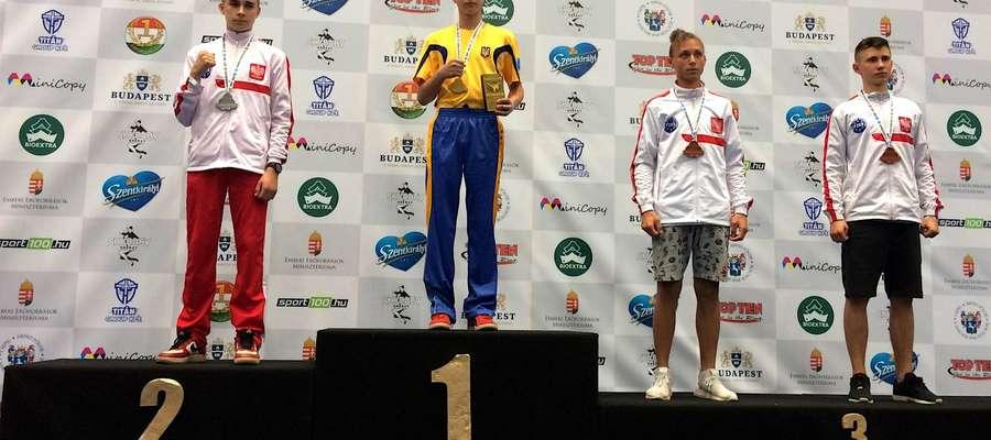 Adrian Bendyk i Łukasz Wojtowicz na trzecim stopniu podium w Budapeszcie