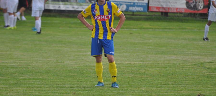 Maciej Watkowski zdobył dwie bramki fot. mo