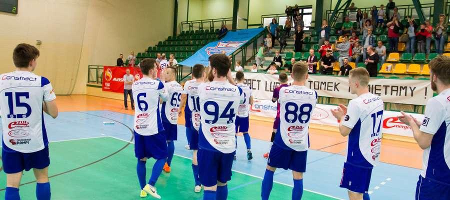 Oby po sobotnim meczu z Gwiazdą i futsaliści Constractu, i ich kibice w Lubawie mieli co świętować