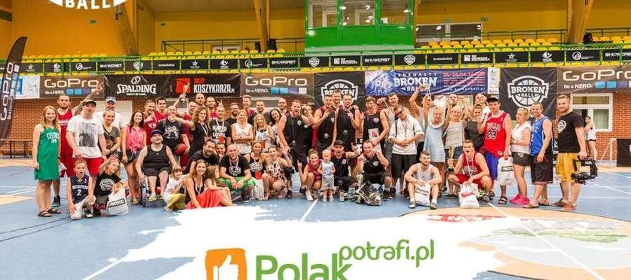 Koszykarska rodzina Iława Basket Crew już od 13 lat organizuje ogólnopolski turniej Broken Ball
