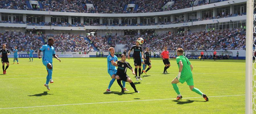 Bałtika wygrała na otwarcie stadionu w Kaliningradzie