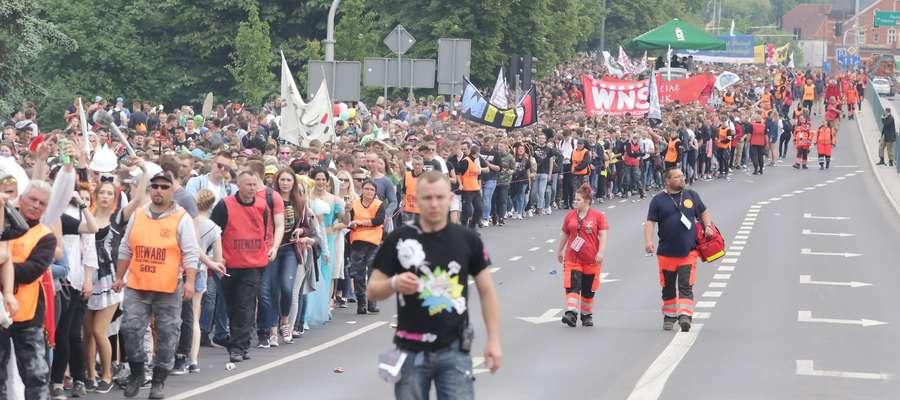 Kortowiada Parada  Olsztyn-parada ulicami Olsztyna w ramach Kortowiady