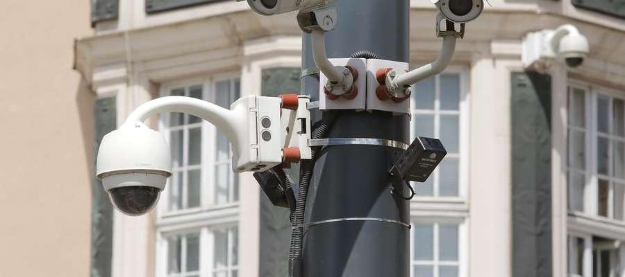 Olsztyn - kamery monitoringu miejskiego