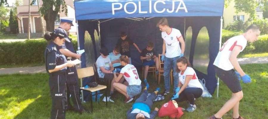Rywalizacja odbyła się pod okiem policjantów