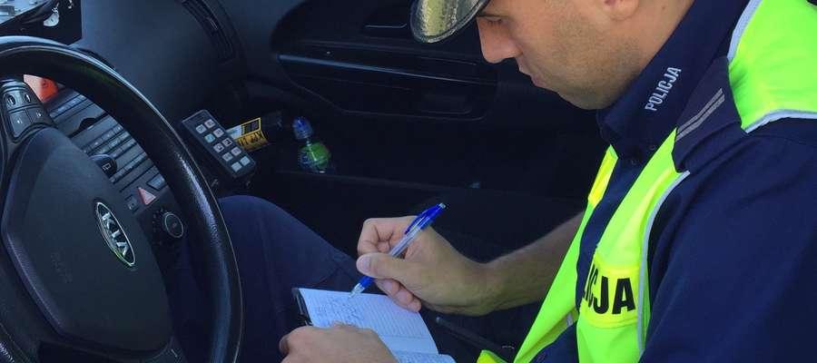 Zmniejszenie zagrożeń związanych z nadmierną prędkością jest jednym z priorytetowych zadań Policji.