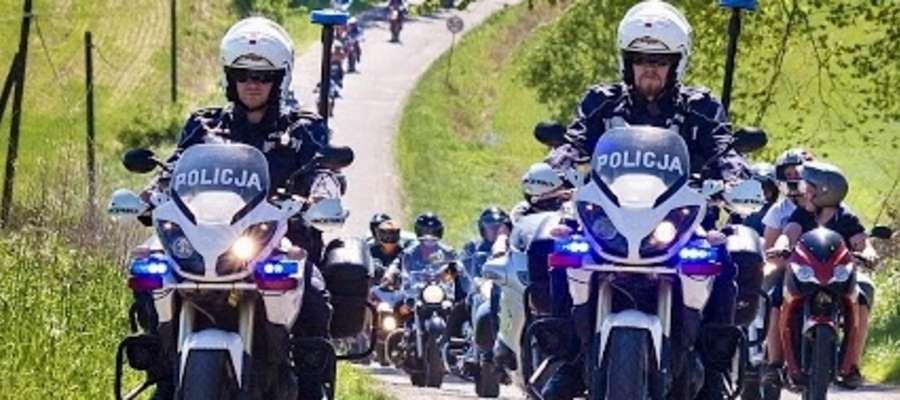 W tym roku w zlocie wzięło udział ponad pół tysiąca motocyklistów.