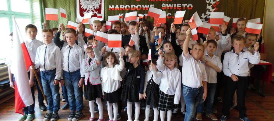 Trzeciomajowa akademia w szkole w Boleszynie