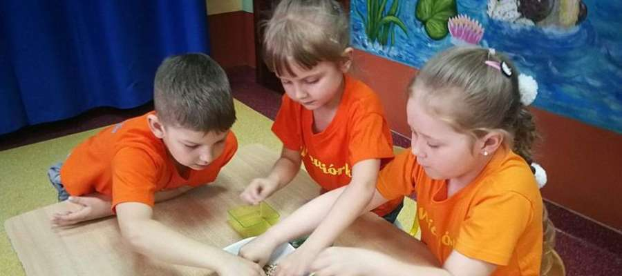 Przedszkolaki podczas turnieju