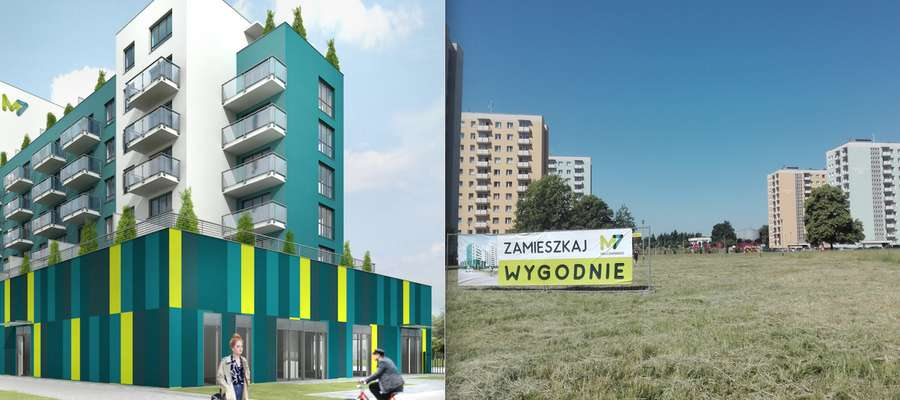 Nowy budynek powstanie na działce przy ul. Mielczarskiego