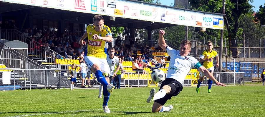 Mecz z udziałem piłkarzy Olimpii Elbląg