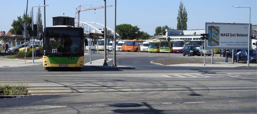 Nowy wyjazd z dworca autobusowego