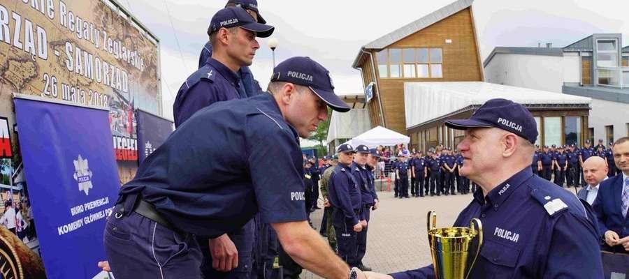 Policjanci z Ostródy i Giżycka zajęli drugie miejsce w Polsce