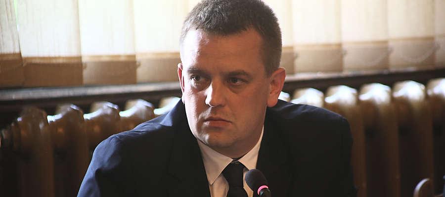 Łukasz Wiśniewski został wybrany czwartym wicestarostą  kętrzyńskim kadencji 2014 - 2018