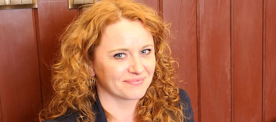 Marta Wojciechowska jest związana z kętrzyńskim muzeum już od kilku lat.