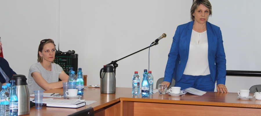 Skarbnik Grażyna Sikut oraz burmistrz Aneta Goliat brały udział w posiedzeniu Kolegium RIO