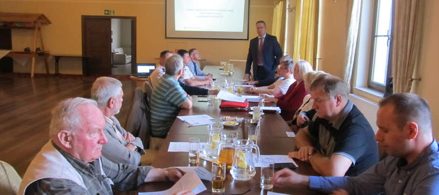 Spotkanie Warmińskiego Stowarzyszenia Przedsiębiorców w Lidzbarku Warmińskim