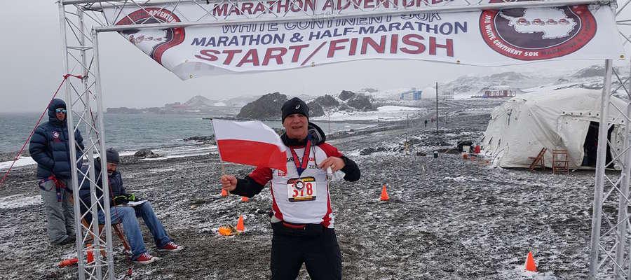 Maraton na Antarktydzie! To możliwe w wykonaniu Zenona Liberny