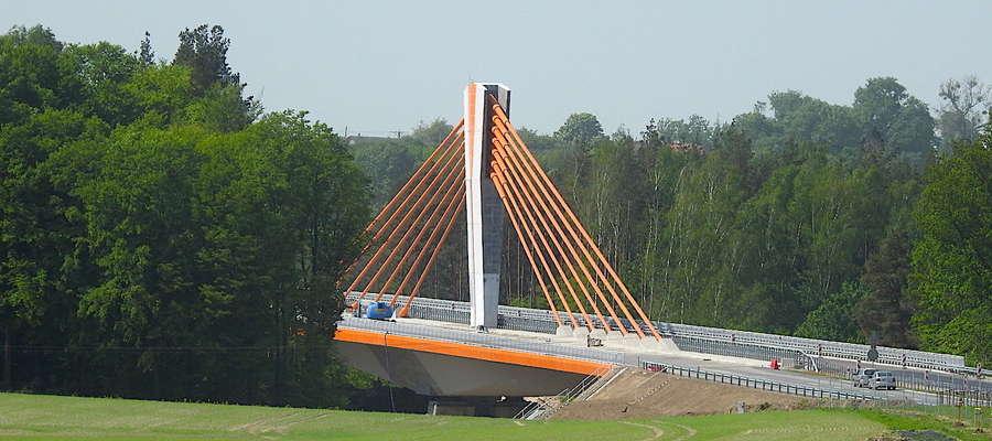 Druga jezdnia mostu na DK16 będzie oddana do użytku w pierwszej połowie czerwca
