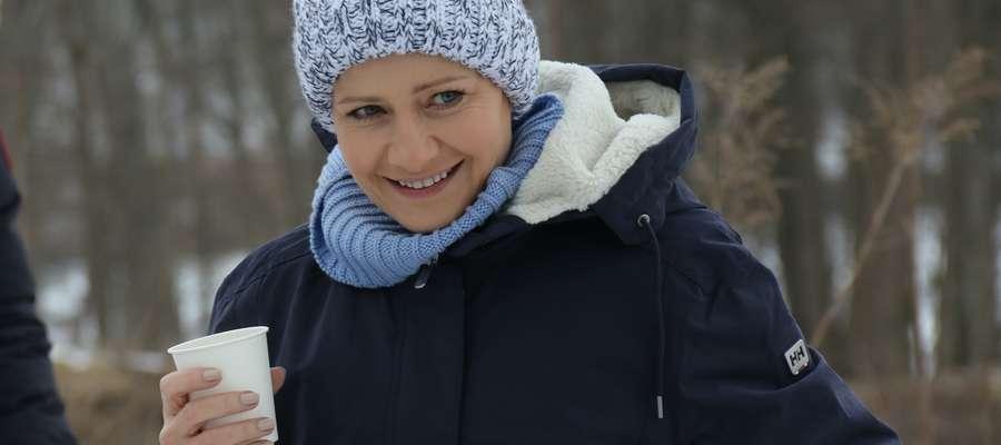 Ekipa Rodzinki.pl, w tym Małgorzata Kożuchowska, gościła w Giżycku zimą tego roku