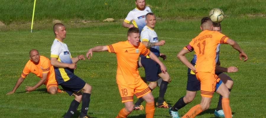 Gmina Kozłowo odniosła pierwsze ligowe zwycięstwo w rundzie wiosennej