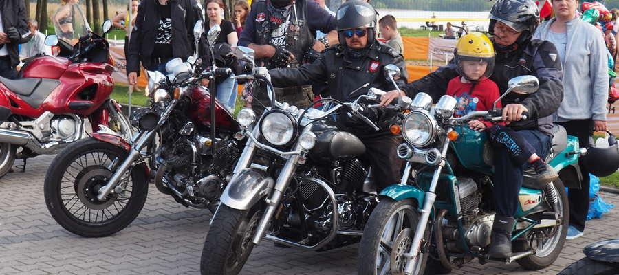 Parada motocyklowa cieszyła się dużym zainteresowaniem