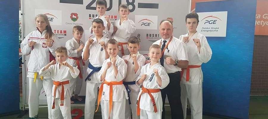 Ekipa karateków z Iławy na Mazovia Cup 2018