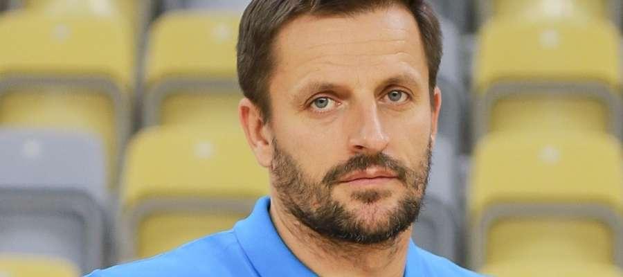 Rafał Kuptel, pochodzący z Iławy trener Gwardii Opole i — do niedawna — selekcjoner kadry narodowej juniorów
