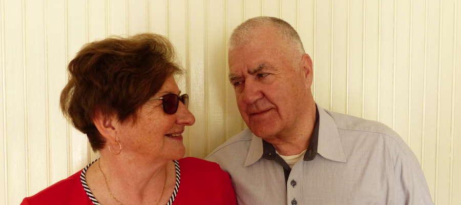 Nasza bohaterka z mężem Władysławem