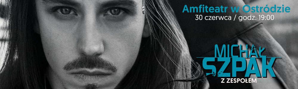 Bilety na koncert Michała Szpaka już w sprzedaży - full image