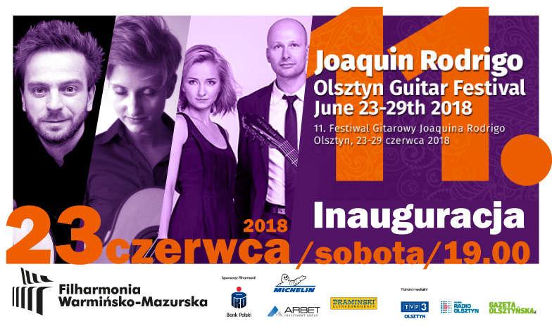 Koncert Inaugurujący 11. Festiwal Gitarowy Joaquina Rodrigo w Olsztynie - full image