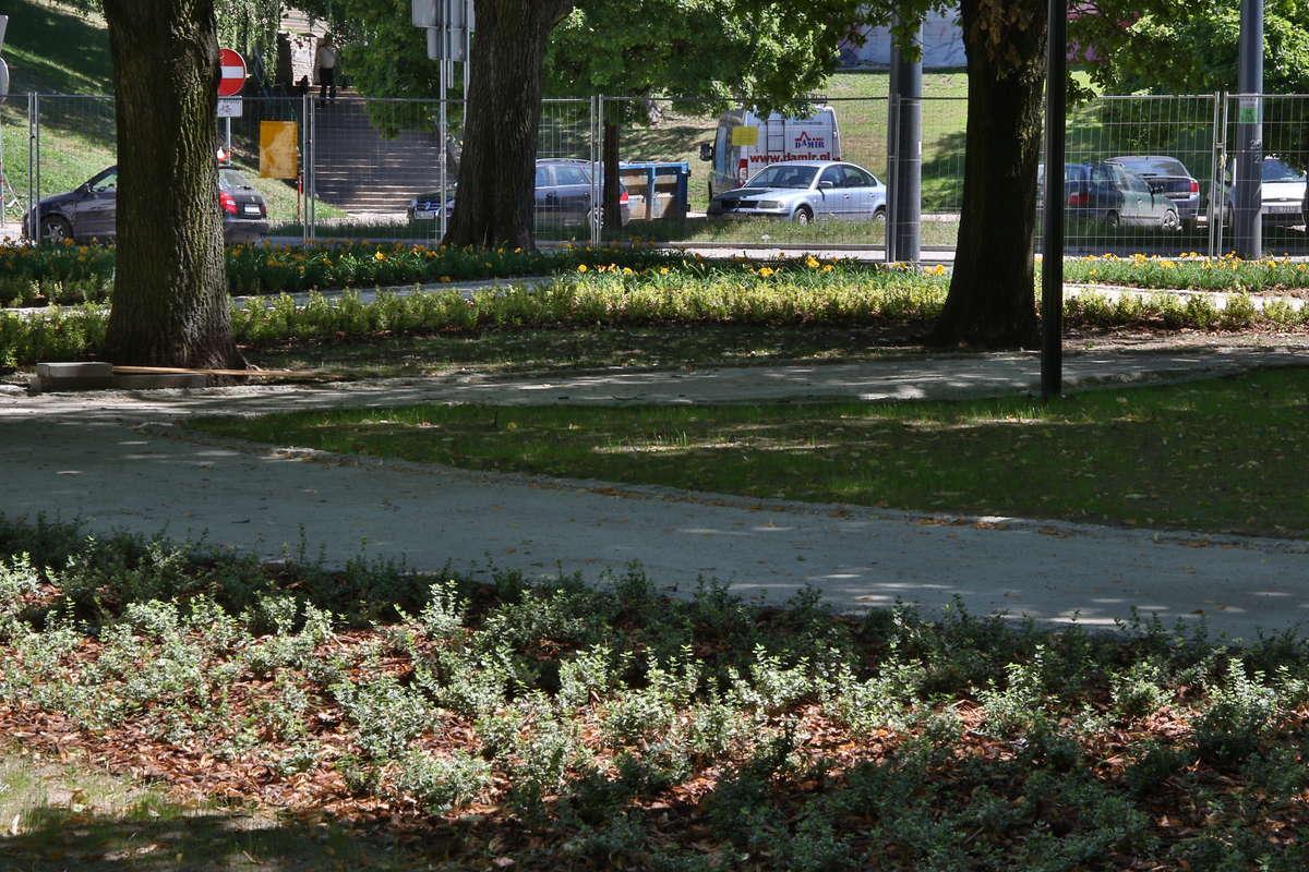 Plac Pułaskiego po remoncie