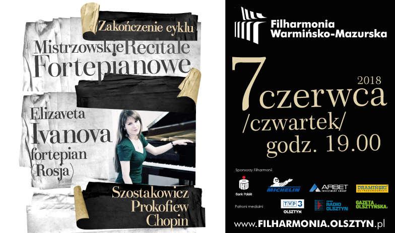 Mistrzowski recital Elizavety Ivanovej - full image