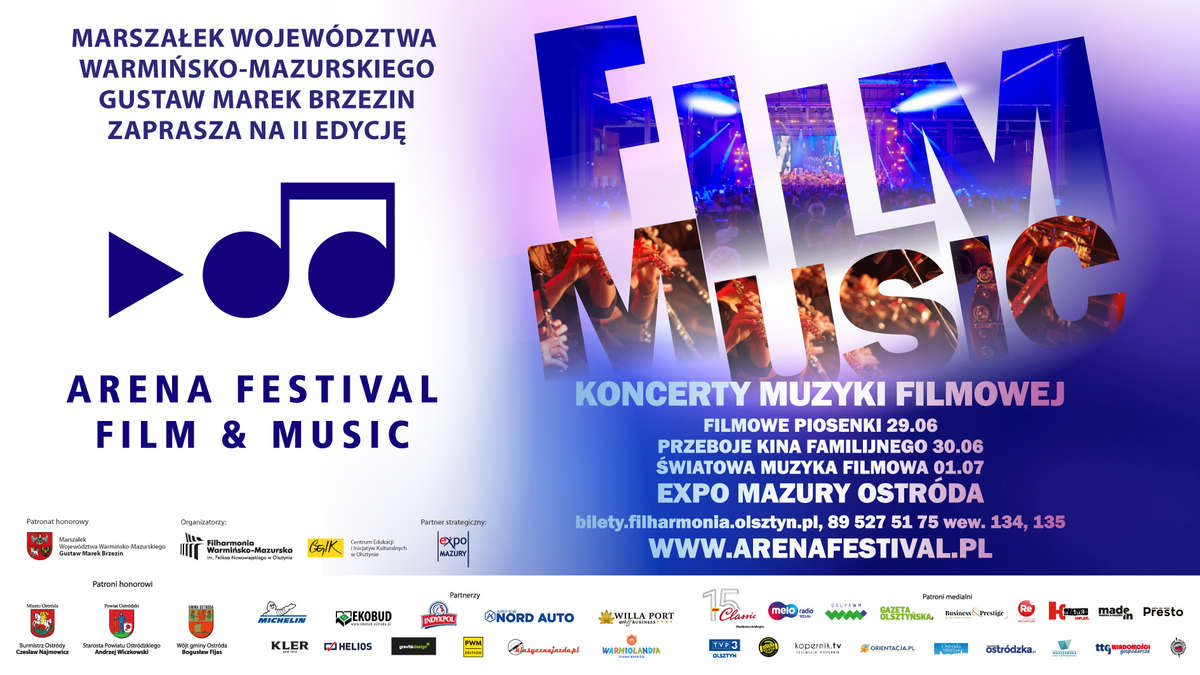Festiwal muzyki filmowej – Arena Festival film & music 2018 - full image