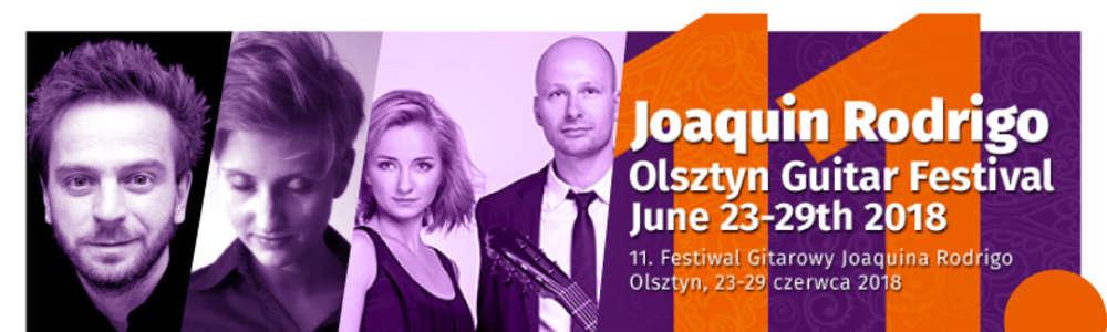 Koncert Inaugurujący 11. Festiwal Gitarowy Joaquina Rodrigo w Olsztynie