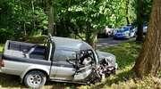 Policjanci wyjaśniają okoliczności wypadku drogowego