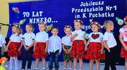 70. urodziny Przedszkola Kubusia Puchatka w Węgorzewie