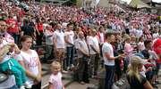 Setki osób w strefie kibica w Olsztynie