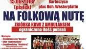 Akcja krwiodawstwa z folkową nutą