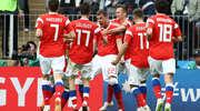 Rosja szczęśliwa: zaczęła Mundial wysoką wygraną