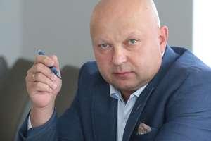 Sławomir Koniuszy  Olsztyn-Sławomir Koniuszy przewodniczący związków zawodowych w policji KWP