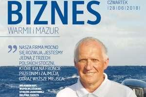 """Najnowsze, ekskluzywne wydanie """"Biznesu Warmii i Mazur"""" już dostępne"""