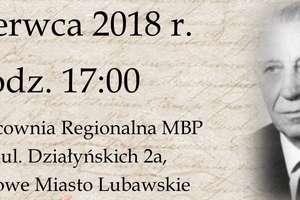 """""""Wspomnienia o Władysławie Radziwon"""" w bibliotece w Nowym Mieście"""