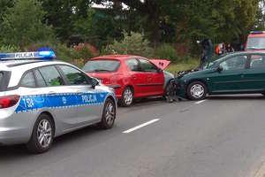 Wypadek na trasie do Wikielca. Jeden z kierowców był pod wpływem alkoholu