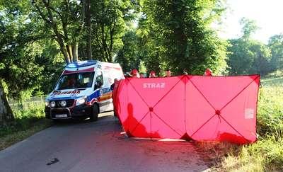 Wypadek w Demitach. Zginęła 19-latka