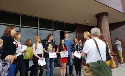 Studenci UWM przeciwko reformie ministra Gowina