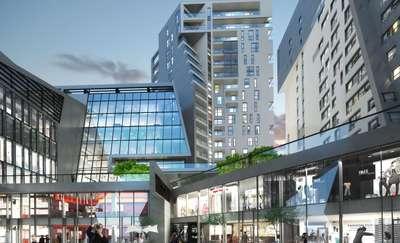 To będzie najwyższy mieszkalny budynek na Warmii i Mazurach. Wmurowano kamień węgielny pod budowę Centaurusa
