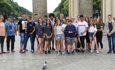 Uczniowie z górowskiej podstawówki z wizytą u niemieckich kolegów