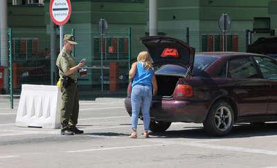 Czasowo wstrzymana odprawa na przejściu granicznym w Bezledach